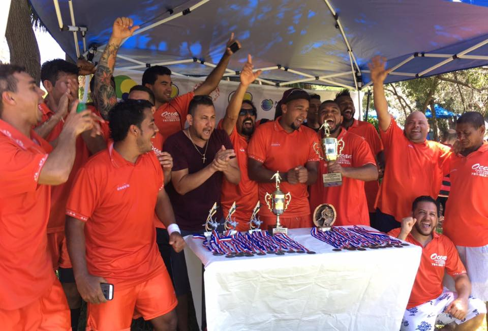Time Restaurante Sabores Brasil vence Pompano Soccer Cup